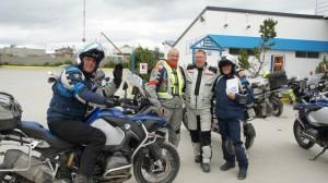BMW GS Treffen auf Feuerland
